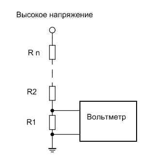 Высоковольтный вольтметр своими руками